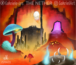 [Minecraft] The Nether by Gakriele-lvs