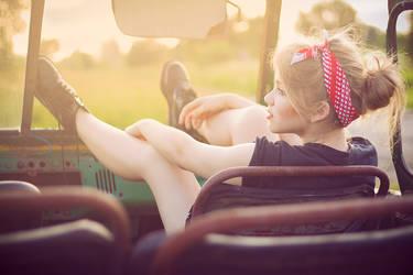 on the roadside III by skubaNiec