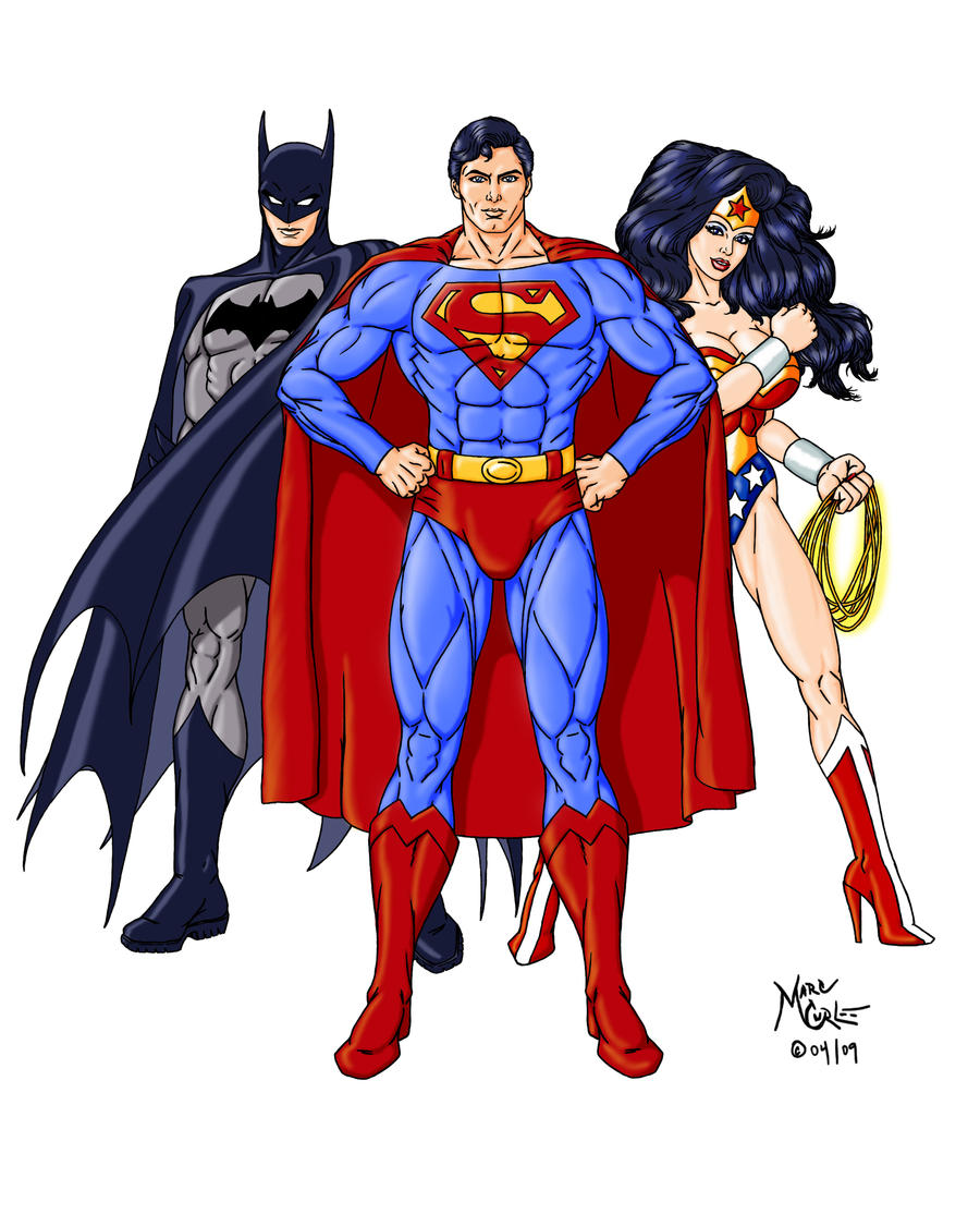 Batman superman wonder woman by inputjack on deviantart - Superman wonder woman cartoon ...
