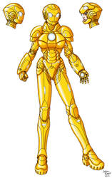 Gold Guardian 3-2 by InputJack