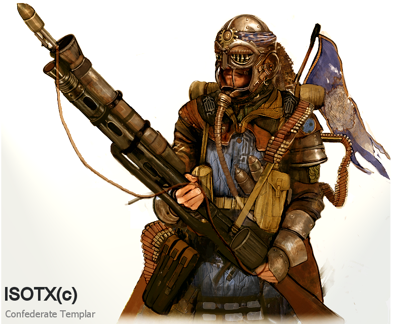 Steampunk game Confederate Templar