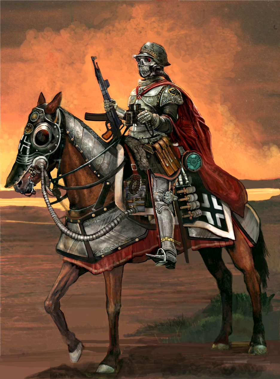 WW2 German Knight by Monkey-Paw