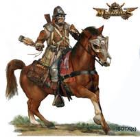 Marauder cavalry bomber by Monkey-Paw