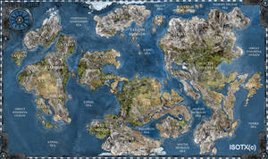 Iron Grip World Map