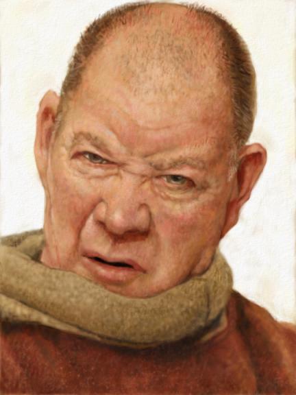 Monk Portrait Test by Monkey-Paw