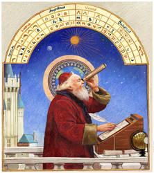Astrologer (Children's Book Illustration)