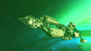 Space Medical Supply Ship