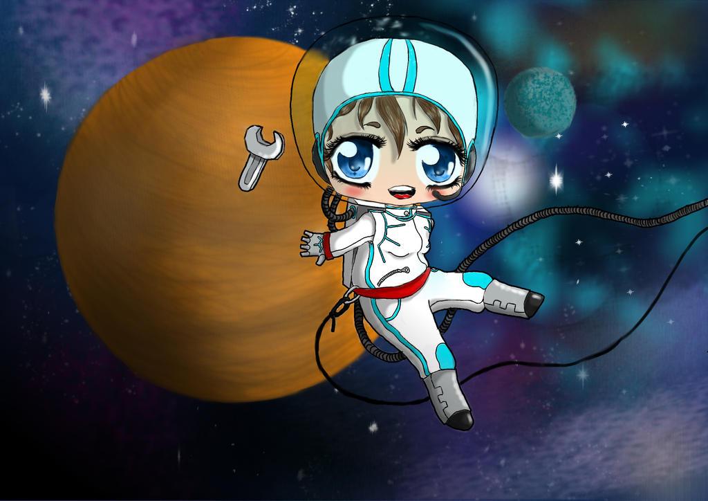 chibi astronaut - photo #21