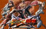 Street Fighter X Tekken 6 Bloodline Rebellion