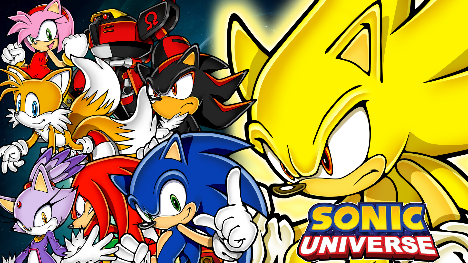 Sonic Universe Wallpaper HD 1920x1080 by YuseiFudou97 on ...