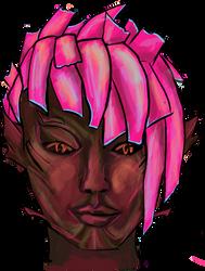 Cyanoface by krahka