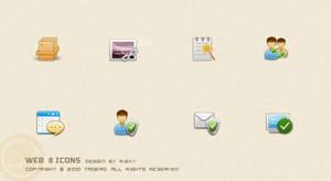 Web 8 icons