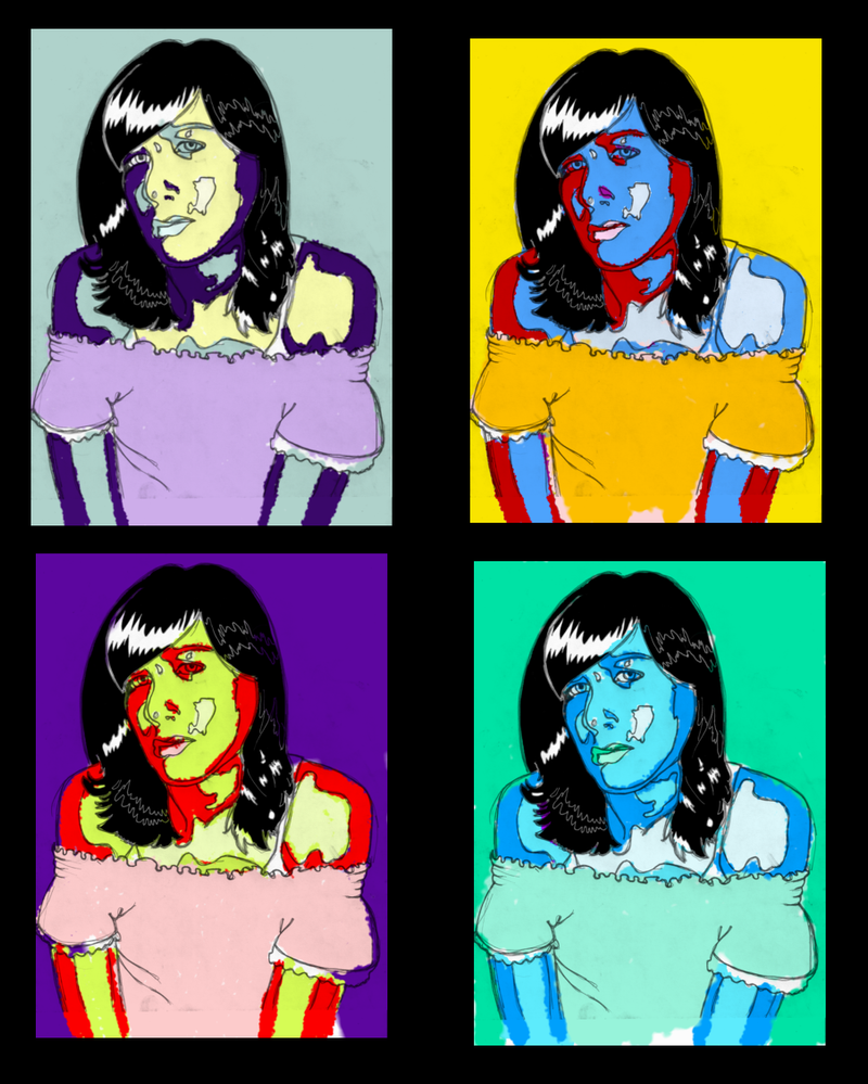 an analysis of warhols portraits Important art by andy warhol with artwork analysis of achievement and artwork description & analysis: warhol's self portraits that he created throughout his.