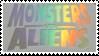 Monsters vs. Aliens Stamp by MrsCockroach