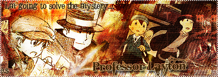 Professor Layton Sig by DinamiiTa