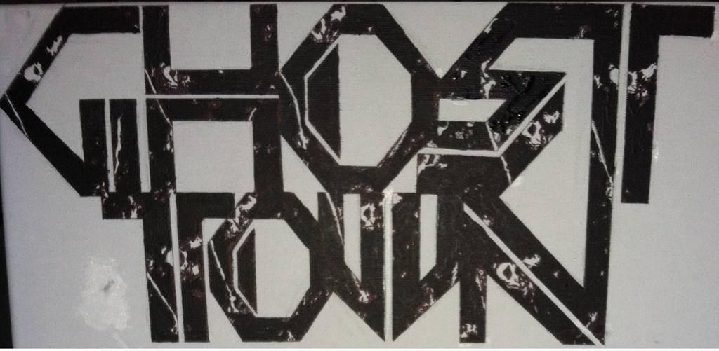 Ghost Town Band Logo Transparent
