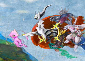 .: THE CREATION OF MEW :. by Gymjack