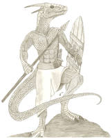 anthro dragon by Son-of-Italy
