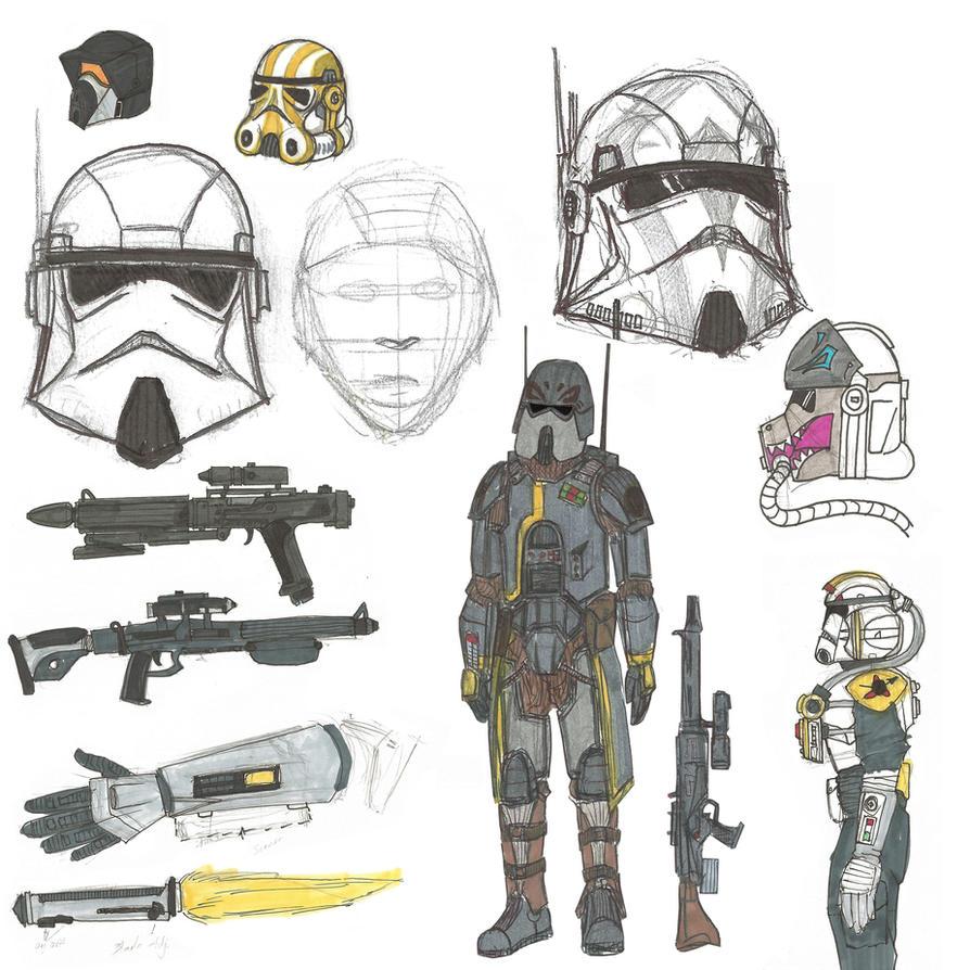 star wars clonetrooper concept - photo #5