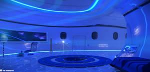 a NewMoon Room ( main lights off )