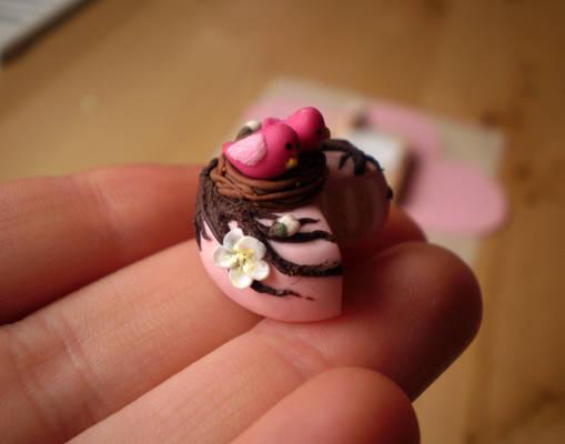 Spring Birdies Cake