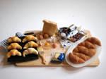 Croissants Preparation Board