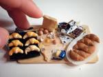 Croissants prep board - size