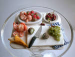 Fruit Salad prep board