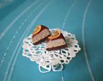 Cake Slices with Orange Studs