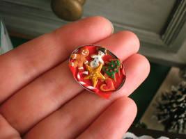 Tiny Christmas Cookies by vesssper