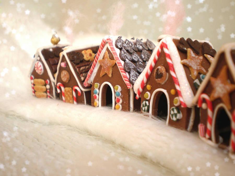 Gingerbread Village by vesssper
