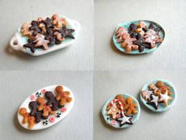 Many Christmas Cookies by vesssper