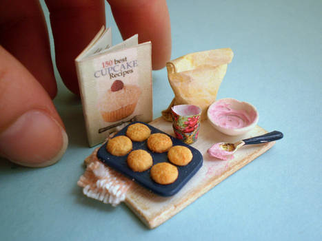 Cupcakes Preparation Board