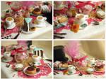 Alice's Tea Party - detail