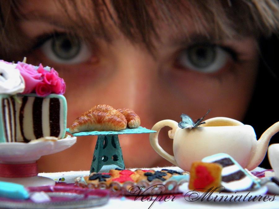 Tea Party in Miniature by vesssper
