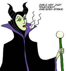 Maleficent bad habits by FerchoCG