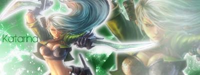 Katarina League Of legends by SeoulHeart
