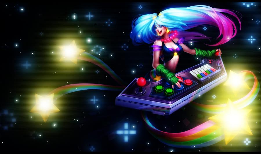 Arcade Sona by SeoulHeart