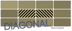 Diagonal Scan Lines