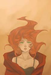 Girl On Fire by 8DarkAngel8