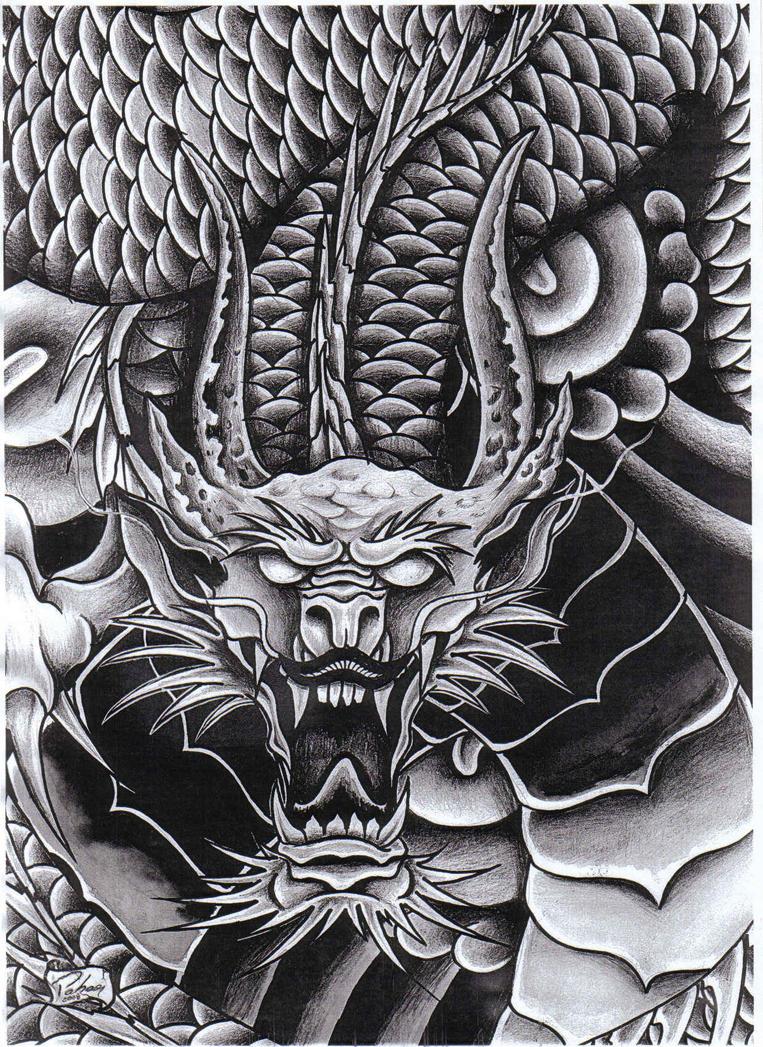 Tattoo Art Bat Dragon By Renatopahaor On Deviantart