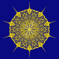 Golden Mandala