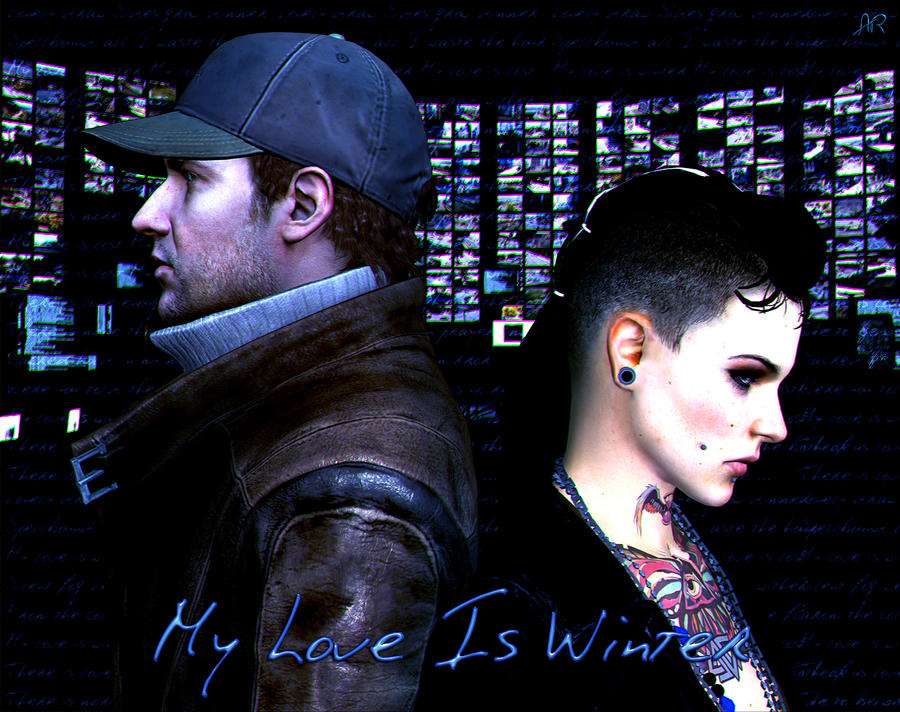 Watch Dogs Aiden And Clara Kiss