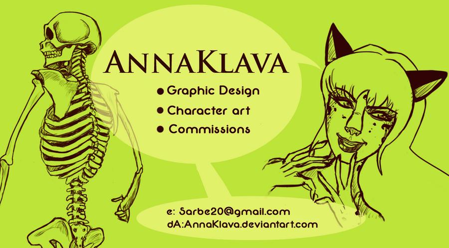 Business Card by AnnaKlava