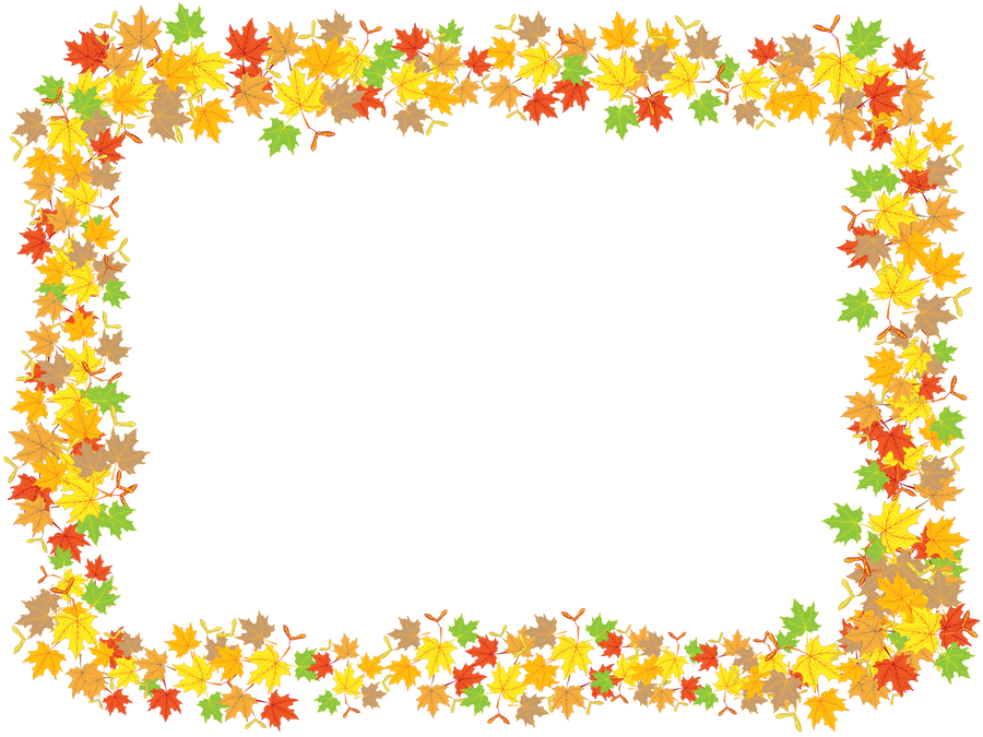maple leaves frame by flashtuchka on deviantart Free Clip Art Borders Lines microsoft office clip art borders free download