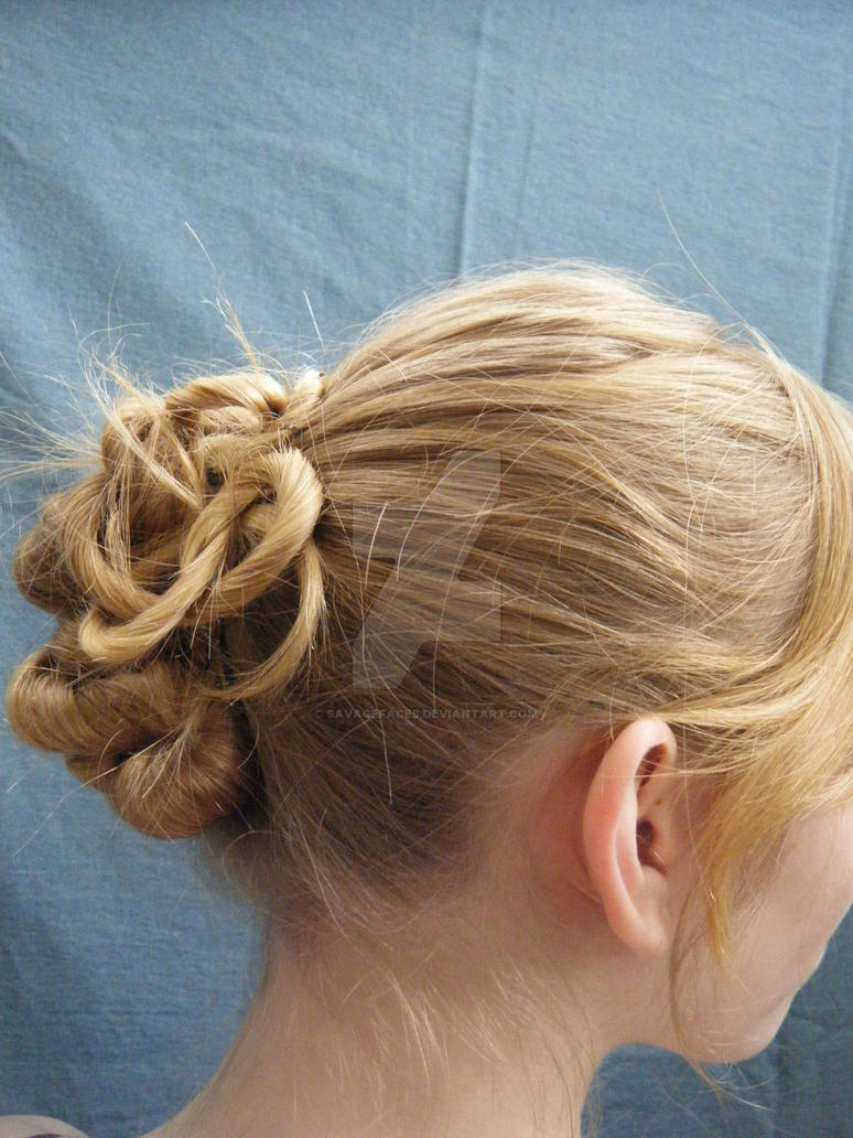 Twisted Updo by SavageFaces