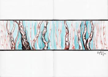 (16.11.03)Birch Melody by CaptainTigra