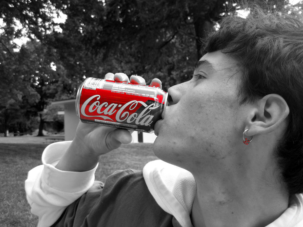 The Coke Man by faerie-angel