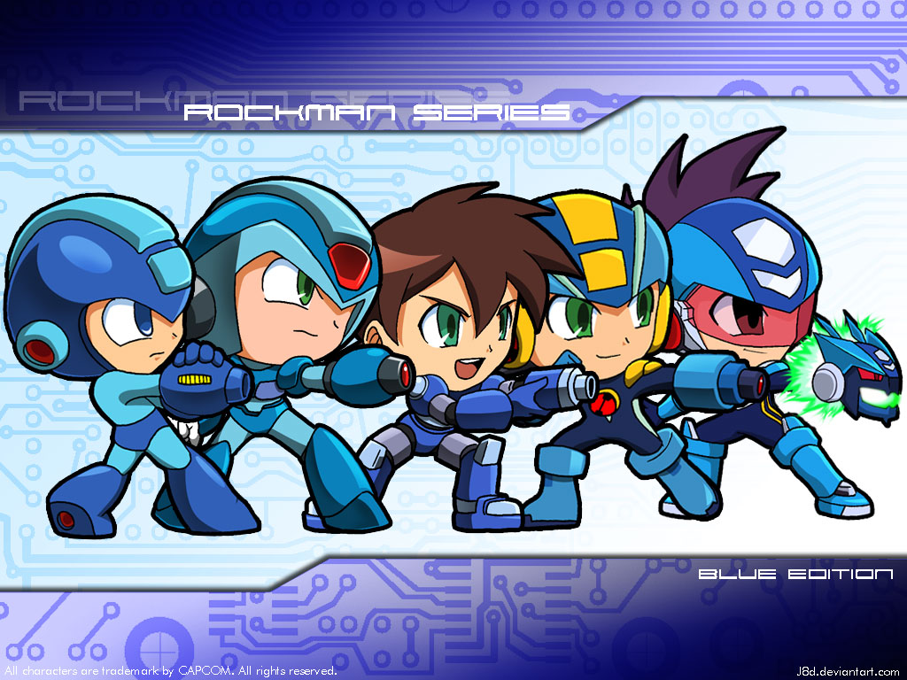 MegaMan Legends favourites by LopezTheHeavy on DeviantArt ×