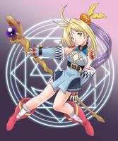 FEZ: Sorceress of Dawn by J8d